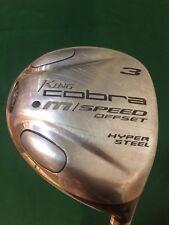 """King Cobra Golf M SPEED Offset 3 Fairway Wood Womens Flex Graphite RH 41.75"""""""
