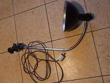 Alte Tischlampe Klemmlampe Schwanenhals Art Deco Bäder K.-G.