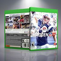 Madden 17 - Replacement XboxOne XB1 Cover and Case. NO GAME!!
