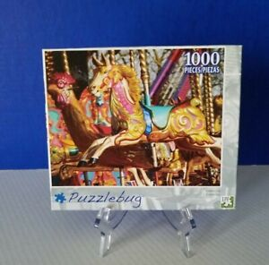 "Puzzle bug LPF 1000 Piece Jigsaw Puzzle # 3709 CAROUSEL 18.25""x 23"""