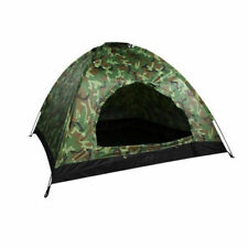 Outdoor Hiking Camping for 3-4 Persons Camouflage Tent Folding Portable Large