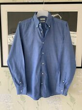 """Mens Blue Slim Fit Shirt From NEXT - Size 16"""""""