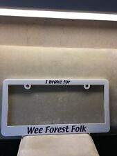 WFF  License Plate
