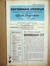 Division 2 Tottenham Hotspur Teams S-Z Football Programmes