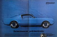 1965 Ford Mustang Shelby GT350 Coupe photo 1993 BF Goodrich Tires 2page print ad