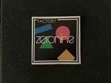 Old School Zeronine BMX  Promotional Sticker/ Decal