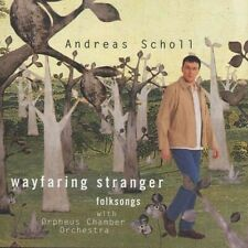 ANDREAS SCHOLL 'WAYFARING STRANGER' CD NEW+