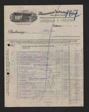 ERFURT, Rechnung 1924, Aluminium-Industrie Hans Sauer Aluminiumwaren-Fabrik