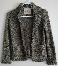 """ANTHROPOLOGIE Angel of the North """"Melodious"""" S Open Front Boho Cardigan Sweater"""