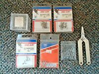 """Mixed Lot Of """" NOS """" & Opened Fishing Lure Repair Items,Split Ring Pliers,etc."""