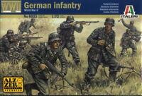 Italeri 1/72 6033 WWII German Infantry (50 Figures, 15 Poses)