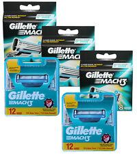 48 Gillette Mach3 Rasierklingen Klingen in 2x 12er = 24 + 3x 8er in OVP