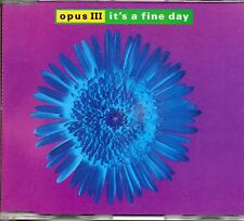 ★ MAXI CD OPUS III - PWL	It's a fine day 4-track Jewel Case     ★