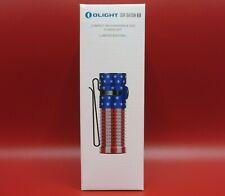 OLIGHT S1R Baton II (Patriotic) 1000 Lumens Flashlight Limited # 1495 of 3000