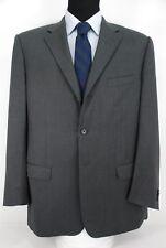 Corneliani Italy 3Btn Suit Jacket Sport Coat Charcoal Gray Wool 46R