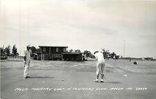Iowa, Ia, Pella, Country Golf & Country Club Real Photo Postcard