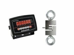 OPTIMA OP-926 Hanging Scale ( S-Type) LED 2000 lb x 0.2 lb