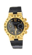 Bvlgari Diagono Scuba Chronograph Automatic 18K Yellow Gold Watch SC38G