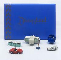 Disneyland Tomorrowland Pewter Set 50th Anniversary Kevin & Jody BRAND NEW