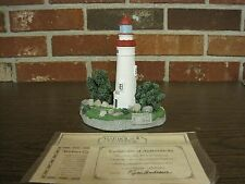1995 Harbour Lights Lighthouse #413 Marblehead Ohio-Comm. Stamp Series