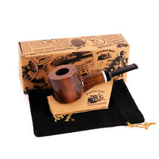 Mr. Brog Producer Workshop Handmade NEW pipe no. 62 Hammer, Brown