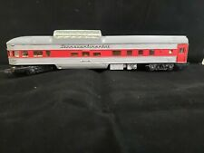 Tri-Ang OO R.441Transcontinental Observation Coach 91119 Red/Silver T3