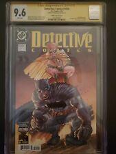 9.6 Batman Detective Comics 80's Variant CGC signed by Frank Miller