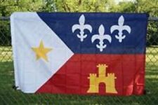 Acadiana Cajun Country Flag Large 3x5 ft Louisiana Bayou New Orleans Acadian LA