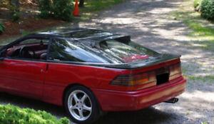 Fits 89-92 Probe GTS Acrylic Smoke Solarwing Rear Window Deflector Spoiler 51160