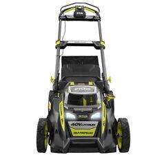Walk Behind Lawn Mower Self Propelled 20in Cordless 40V Lithium Ion 5.0Ah Ryobi
