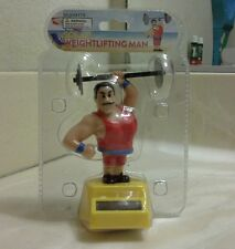 SOLAR POWER DANCING  WEIGHTLIFTING MAN (with red outfit)...(●_●).(●_●).(●_●)..