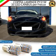 COPPIA LAMPADE PY21W BAU15S CANBUS 3.0 35 LED FORD PUMA MK2 FRECCE ANTERIORI