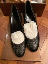 gucci shoes women Black Soft Leather