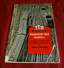 TTR TRIX TWIN RAILWAY PERMANENT WAY MANUAL. H Greenly. 1954. Fully Illustrated.