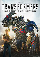 TRANSFORMERS 4 AGE OF EXTINCTION (DVD, 2014) NEW