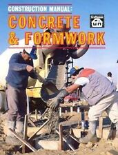 NEW Construction Manual : Concrete and Formwork by T. W. Love (1973, Paperback)