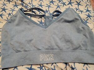 victoria secret pink sports bra xl