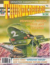 Thunderbirds #40 (April 17 1993) TV21 full colour reprint strips