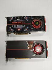 Pair of ATI Radeon HD 5850 Graphics cards CROSSFIRE