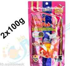 2x Hikari Goldfish Gold 100g Colour Enhancing Baby Pellet Koi Fry Fast DISPATCH