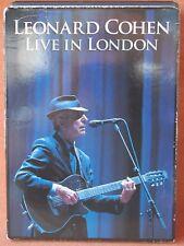 LEONARD COHEN LIVE IN LONDON  ---  *** DVD ***