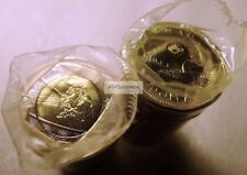 2016 Canada $1 Dollar Regular Loonie + Battle of Atlantic $2 Dollars Coins Rolls