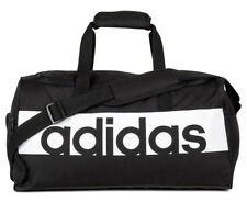 Adidas Small Linear Team Bag Black White