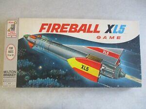 VTG 1964 FIREBALL XL5 BOARD GAME IN ORIGINAL BOX BY MILTON BRADLY #4422