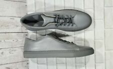 Greats Triple Grey Jason Wu Brooklyn Gray Leather Lace Up Sneakers MENS SIZE 13