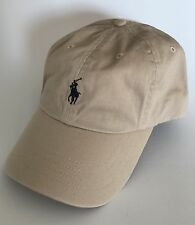 100 Authentic Mens DESIGNER Polo Ralph Lauren Cap Numbuck Adjustable Back e908d34dfae1
