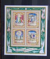 Bahamas 1992 Christmas Miniature Sheet MNH