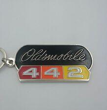 64-80 Oldsmobile 442 Emblem Keychain