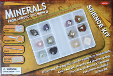 MINERALS FROM AROUND THE WORLD Science Kit 12 mineral specimens included