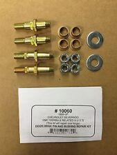 Set of 2: Chevy GMC  Door Hinge Pin and Bushing Kits With Instructions 19299324